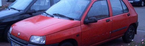 Renault Clio, rot