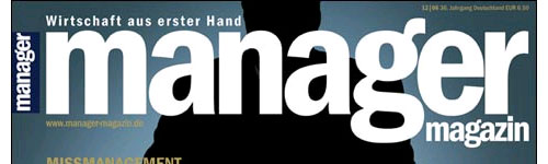 manager magazin 12/2006 (Titelkopf)