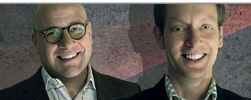 Christian Gummig (li.) und Jens Kliever